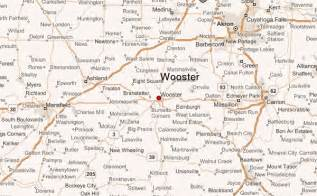 Wooster Ohio Map by Wooster Location Guide