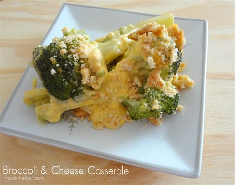 broccoli cottage cheese casserole broccoli and cheese casserole made in a day