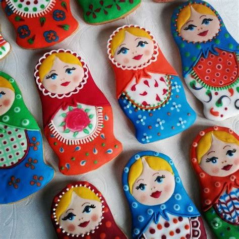 Russian Doll Wall Stickers 66 best images about cookies matryoshka dolls on pinterest