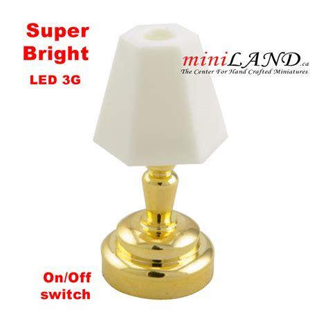 super bright led desk l brass bedroom l led super bright with on off