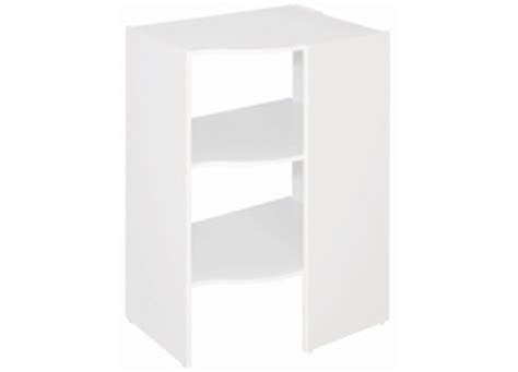 Closetmaid White Corner Shelf Unit Corner Unit Closetmaid