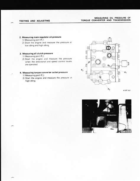 komatsu wa loader     power   transmission hydraulics