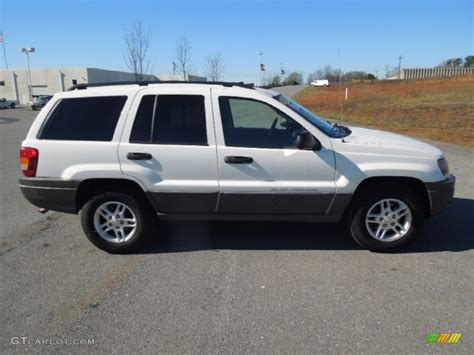 jeep grand cherokee laredo white stone white 2004 jeep grand cherokee laredo exterior photo
