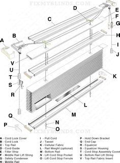 Home Decorators Blinds Parts diagram of a window shade diagram free engine image for