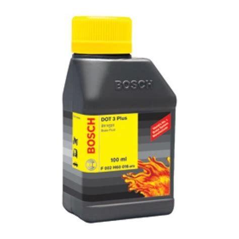 what color is brake fluid bosch dot 3 plus brake fluid 100ml crimson color