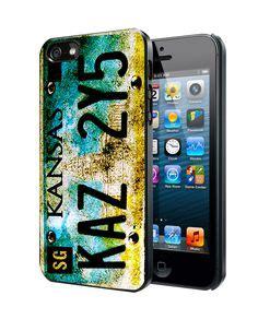 Supernatural License Plate Casing Iphone 7 6s Plus 5s 5c 4s Samsung izengate apple iphone 6 plus 5 5 inch wallet executive premium pu leather