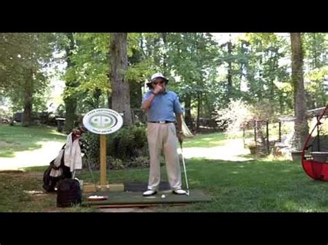 peak performance golf swing keep your nose at the ball swing surgeon don trahan