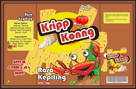 desain brosur makanan ringan desain grafis unesa komgraf kemasan makanan ringan