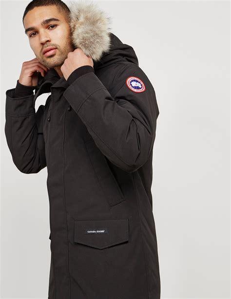 canada goose langford padded parka jacket tessuti