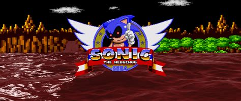 sonic fan games online sonic exe fanmade title screen by 4ngryb1rd5numb3r10 on