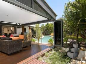 Covered Outdoor Entertaining Areas - outdoor living design with pool from a real australian home outdoor living photo 429854