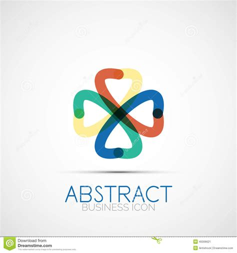 design lop travel line design loop logo stock vector image 45006621