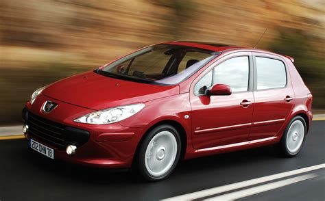 peugeot best selling car denmark 2003 2005 peugeot 307 and 206 dominate best