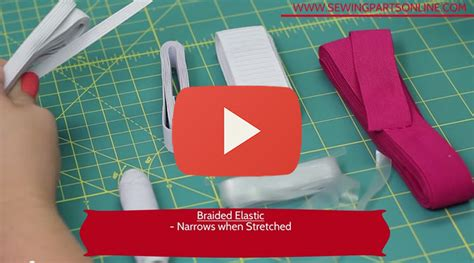 Beginner S Guide To Sewing Ep 7 Elastic Sewing Parts