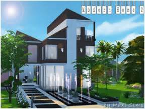 Sims 3 Modern House Floor Plans die sims 4 modern home 2 welcome to akisima free