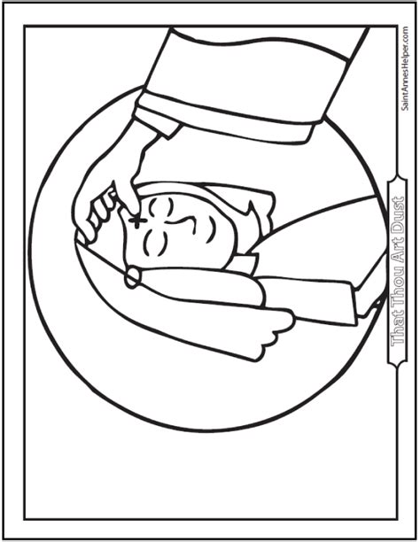 lent coloring pages printable ash wednesday coloring pages start lent well