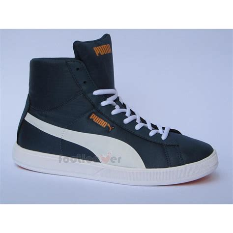 basketball casual shoes archive lite mid ripstop 355356 01 mens navy