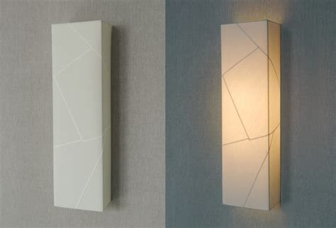Vertical Wall Sconce Faceted Vertical Box Sconce Contemporary Wall Sconces New York By Bone Simple Design