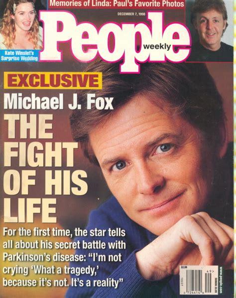 michael j fox good fight 1998 people magazine michael j fox fight of life ebay