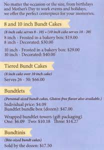 nothing bundt cakes menu menu for nothing bundt cakes boulder boulder urbanspoon zomato