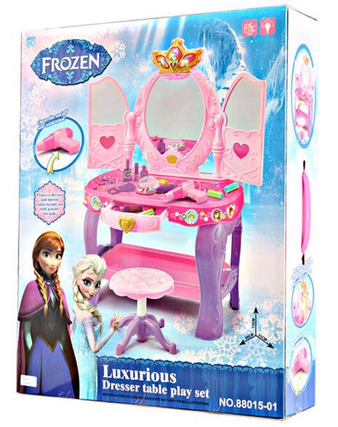 Meja Rias Luxurious Frozen jual mainan meja rias frozen dresser table playset frozen di indonesia katalog or id