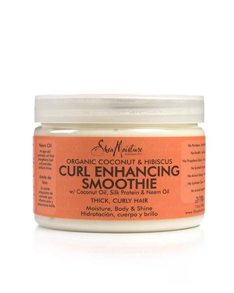 natural curl enhancers for hair shea moisture curl enhancing smoothie bestellen my
