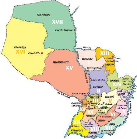 imagenes de limites naturales el paraguay situaci 243 n l 237 mites regiones naturales