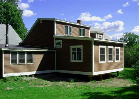 Shed Roof Addition by Exteriors Additions Design Build Vermont