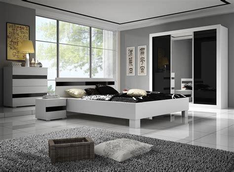 chambre a coucher blanc design chambre adulte design et blanche thalis chambre