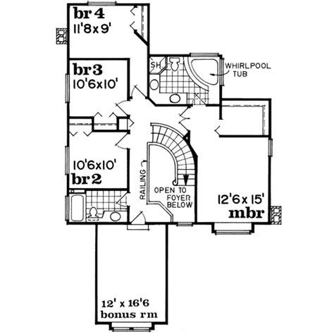 550 square feet floor plan traditional style house plan 4 beds 2 5 baths 2472 sq ft