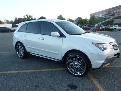 rims for acura mdx pics of 2nd generation mdx with aftermarket rims page 12