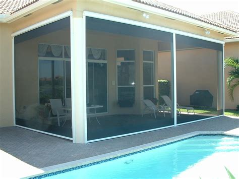 Roll Up Screens For Patio by Roll Up Insect Screen Promenade Screen