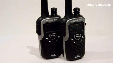 tutorial walkie talkie binatone action 1100 pmr446 radio review and tutorial