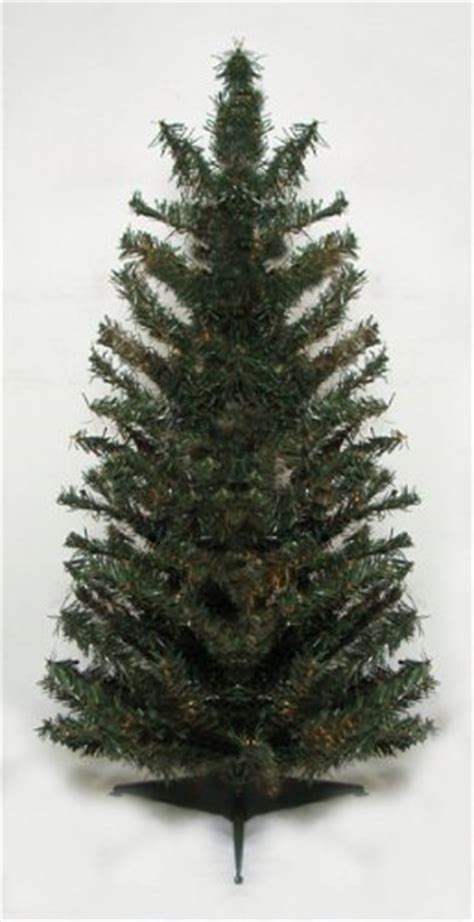 2 canadian pine artificial christmas tree unlit