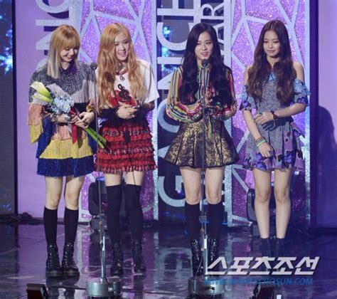 blackpink show nb 6th gaon chart awards allkpop forums