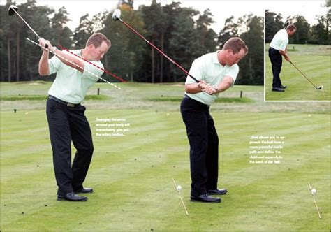 too steep golf swing plane truth in three balls you could cure your slice