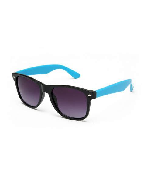 ads stylish blue gradient aviator sunglasses for