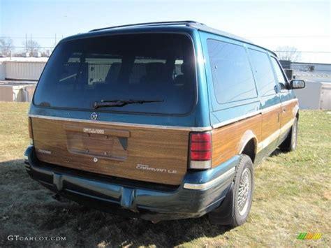 how cars engines work 1994 dodge caravan parental controls emerald green pearl 1994 dodge grand caravan le awd exterior photo 46379715 gtcarlot com
