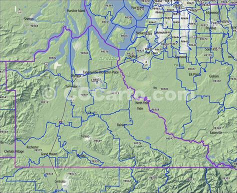 olympia washington map thurston county wa zip codes olympia zip code map