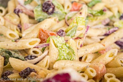 simple pasta salad easy pasta salad cooking with a wallflower