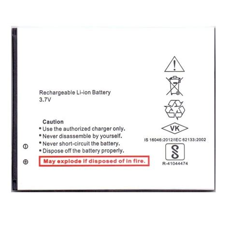 canvas doodle battery battery for micromax a102 canvas doodle 3 by maxbhi