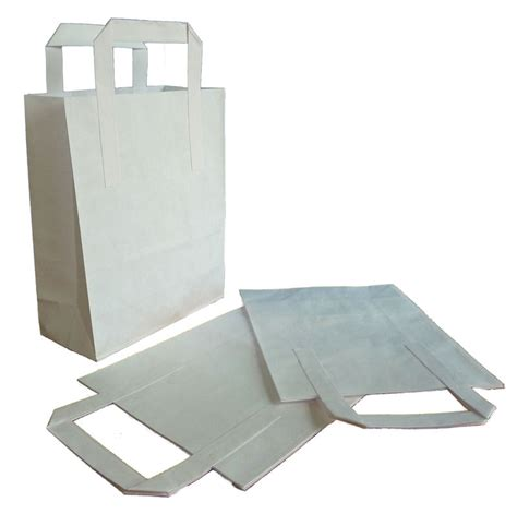 White Paper Craft Bags - white paper bag idea kidz crafts