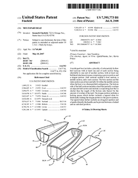 patent specification template utility patent application
