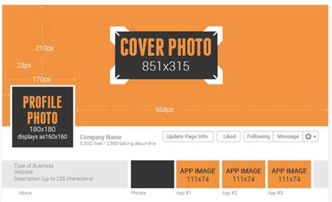 cabecera facebook medidas tamanhos e dimens 245 es de capa para facebook 2014 twitter