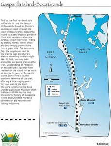 gasparilla island florida map gasparilla island boca grande rail trail maplets