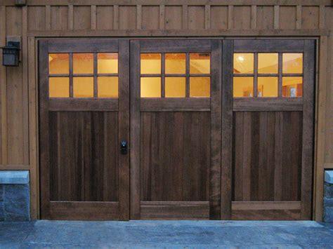 Bifold Garage Door Hardware by Bi Folding Doors Or Accordian Doors By Real Carriage Door