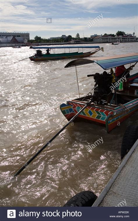 fast boat in thailand river chao phraya boat tour stock photos river chao