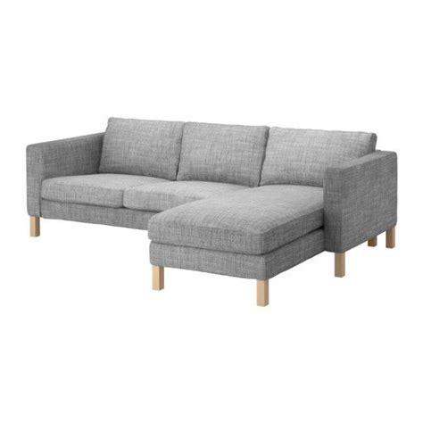 karlstad loveseat and chaise lounge loveseats chaise lounges and ikea on pinterest