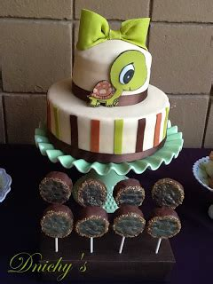 Turtle Themed Baby Shower Decorations by Dnichys Cakes And Cookies Tortuga Turtle Baby Shower