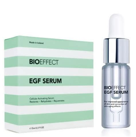 Serum Agf bioeffect egf serum reviewed and rejected for now in aging
